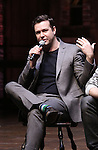 Taran Killam greets students during a cast Q & A before The Rockefeller Foundation and The Gilder Lehrman Institute of American History sponsored High School student matinee performance of  'Hamilton' at the Richard Rodgers Theatre on 2/8/2017 in New York City.