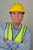 Stock photo of mature construction worker
