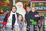 Rochelle Doyle, Erin Doyle, Kirsty Constable and Lia Rozenbajgier from Kenmare Christmas shopping in Kenmare Shopping centre on Friday.