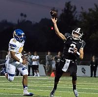 JSerra Catholic High School vs. Bishop Montgomery High School football action.