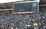 FUDBAL, BEOGRAD, 23. Oct. 2010. - Navijaci Partizana. Utakmica 9. kola Jelen Superlige Srbije (2010/2011) izmedju Crvene zvezde i Partizana - 139. 'veciti derbi'. Foto: Nenad Negovanovic