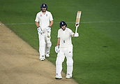 25th March 2018, Auckland, New Zealand;  England captain Joe Root, 50 not out. New Zealand versus England. 1st day-night test match. Eden Park, Auckland, New Zealand. Day 4