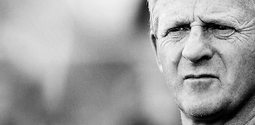 4th July 2006, Legia Warsaw v Celtic at Legia Stadium, Poland. Portrait of Celtic Manager Gordon Strachan by Rob Casey Photography.