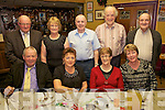 Annual Dinner: The CCE Comhaltas annual christmas dinner held last Friday night in The Gables, Athea. Front l-r: Dan Griffin, Joan Griffin, Eileen Kelly, Lilly Ann O'Carroll Back l-r Sean Barrett, Margaret Barrett, Donal de Barra, Ned Fitzgerald, Con Fitzgerald.
