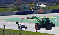 4th July 2020; Red Bull Ring, Spielberg Austria; F1 Grand Prix of Austria, qualifying sessions;   6 Nicholas Latifi CAN, Williams Racing crashes out