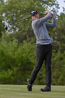 Brendan Steele (USA) watches his tee shot on 15 during Round 1 of the Valero Texas Open, AT&amp;T Oaks Course, TPC San Antonio, San Antonio, Texas, USA. 4/19/2018.<br /> Picture: Golffile | Ken Murray<br /> <br /> <br /> All photo usage must carry mandatory copyright credit (&copy; Golffile | Ken Murray)