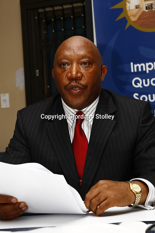 PRETORIA - 30 December 2010 - Dr Mafu Rakometsi announces that Umalusi, the Council for Quality Assurance in General and Further Education and Training, has approved the release of the 2010 South African school leavers examination results. -- APP/Allied Picture Press