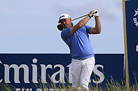 Lee Westwood (ENG) tees off the 15th tee during Thursday's Round 1 of the Dubai Duty Free Irish Open 2019, held at Lahinch Golf Club, Lahinch, Ireland. 4th July 2019.<br /> Picture: Eoin Clarke | Golffile<br /> <br /> <br /> All photos usage must carry mandatory copyright credit (© Golffile | Eoin Clarke)