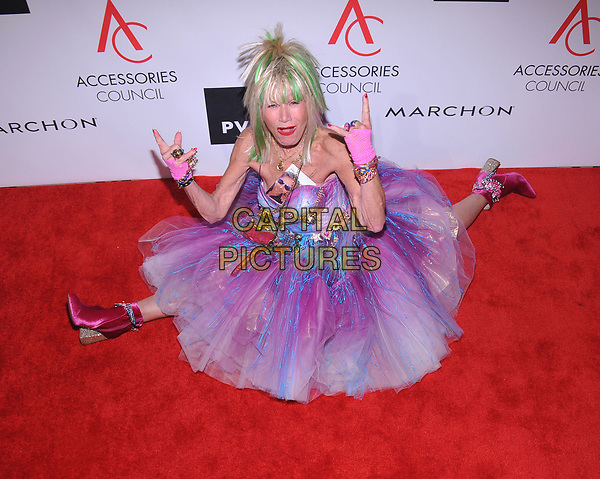 NEW YORK, NY - August 7: Betsey Johnson attends the Accessories Council's 21st Annual celebration of the ACE awards at Cipriani 42nd Street on August 7, 2017 in New York City in New York City. <br /> CAP/MPI/JP<br /> &copy;JP/MPI/Capital Pictures