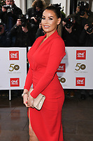 LONDON, UK. March 12, 2019: Jessica Wright arriving for the TRIC Awards 2019 at the Grosvenor House Hotel, London.<br /> Picture: Steve Vas/Featureflash