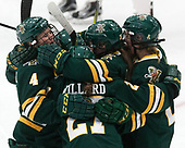 Sammy Kolowrat (UVM - 4), Taylor Willard (UVM - 27), Éve-Audrey Picard (UVM - 26), Saana Valkama (UVM - 24) -  The Boston College Eagles defeated the University of Vermont Catamounts 4-3 in double overtime in their Hockey East semi-final on Saturday, March 4, 2017, at Walter Brown Arena in Boston, Massachusetts.