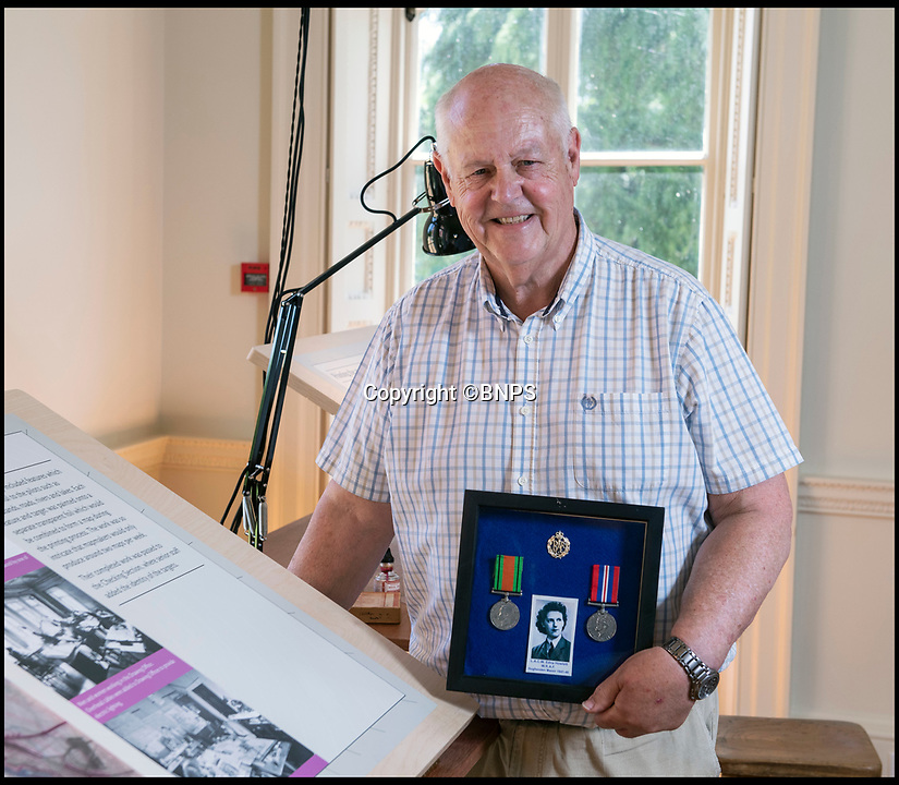 BNPS.co.uk (01202 558833)<br /> Pic: PhilYeomans/BNPS<br /> <br /> Amateur historian David Pearse's Aunt Edna Howlett worked at the Manor.<br /> <br /> Secret rooms at a stately home where brilliant map-makers played a pivotal role in helping Britain to win the war have been opened to the public for the first time.<br /> <br /> Hughenden Manor, in Bucks, once home to the Victorian prime minster Benjamin Disraeli, was requisitioned by the Air Ministry in 1941 and given the codename 'Hillside'.<br /> <br /> In its confines, more than 3,500 hand drawn maps were produced for the RAF bombing campaigns, including the legendary Dambusters Raid and a raid on the Berchtesgaden, Hitler's famous mountain retreat.<br /> <br /> Previously hidden away under lock and key, these rooms have been opened for the first time for a permanent display featuring photographs, records and testimonies from some of the 100 men and women who were based there in World War Two.<br /> <br /> Since they were sworn to silence under the Official Secrets Act, Hillside's crucial wartime role in fact remained unknown until 2004, when a volunteer room guide overheard Victor Gregory, a visitor to the National Trust property, tell his grandson that he was stationed there during the war.