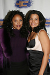 Actress Lynn Whitfield and One Life To Live's January LaVoy - in the cast of HOME at the opening night of the play HOME for Signature Theatre Company on December 7, 2008 and at the after party at 44 1/2, New York, New York. (Photo by Sue Coflin/Max Photo)