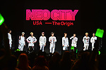 NCT 127 in concert 'World Tour Neo City The Origin' at Watsco Center