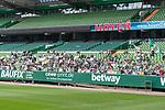 11.05.2018, Weserstadion, Bremen, GER, 1.FBL, Training SV Werder Bremen<br /> <br /> im Bild<br /> Fans im Weserstadion auf Trib&uuml;ne beobachten das Abschlusstraining vor #M05SVW, <br /> <br /> Foto &copy; nordphoto / Ewert