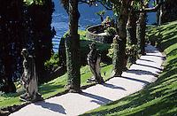 Europe/Italie/Lac de Come/Lombardie/Lenno : Villa del Balbianello - Les jardins