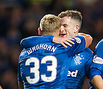 Andy Halliday and Martyn Waghorn