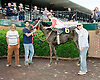 Rebecca Mia winning at Delaware Park on 6/4/12