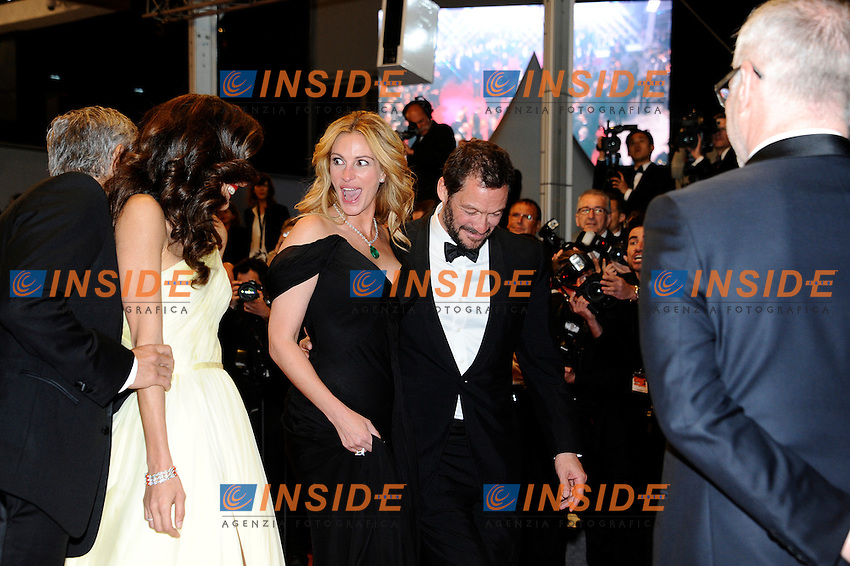 Julia roberts, Dominic West<br /> Festival di Cannes 2016 <br /> Foto Panoramic / Insidefoto