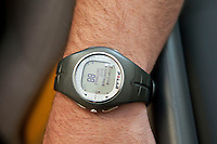 Cardiac Rehabilitation heart rate monitor worn on the wrist