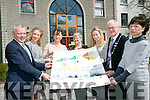 Launching The Kerry Business and Job Expo at the INEC, Killarney on the 24th of April. Front l-r  Mike Scannell, Director Of Services, KCC, Joanne Griffin, South Kerry Development, Liz Maher, Kerry Business Women's Network, Breda Doyle, Bon Secours Hospital, Tralee, Fiona Leahy, Kerry Local Enterprise Office, Cathaoirleach of Kerry County Council Cllr Pat McCarthy and Sharon Brown, Kerry Education Training Board