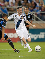 Stanford, California - Saturday June 30, 2012: Robbie Keane in action during a game at Stanford Stadium, Stanford, Ca.San Jose Earthquakes defeated Los Angeles Galaxy,  4 to 3