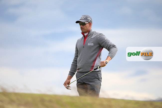Henrik Stenson (SWE) during Round One of the 2016 Aberdeen Asset Management Scottish Open, played at Castle Stuart Golf Club, Inverness, Scotland. 07/07/2016. Picture: David Lloyd | Golffile.<br /> <br /> All photos usage must carry mandatory copyright credit (&copy; Golffile | David Lloyd)