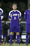 20 November 2014: James Madison's Toby Appleton (ENG). The University of North Carolina Tar Heels hosted the James Madison University Dukes at Fetzer Field in Chapel Hill, NC in a 2014 NCAA Division I Men's Soccer Tournament First Round match. UNC won the game 6-0.