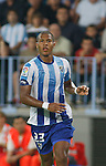 19.09.2010, Malaga, Estadio La Rosaleda, ESP, Primera Division, FC Malaga vs FC Sevilla, im Bild Salomón Rondón the Malaga forward in action during the La Liga match between CF Malaga and Sevilla, played in the La Rosaleda Stadium, Malaga Spain. EXPA Pictures © 2010, PhotoCredit: EXPA/ M. Gunn