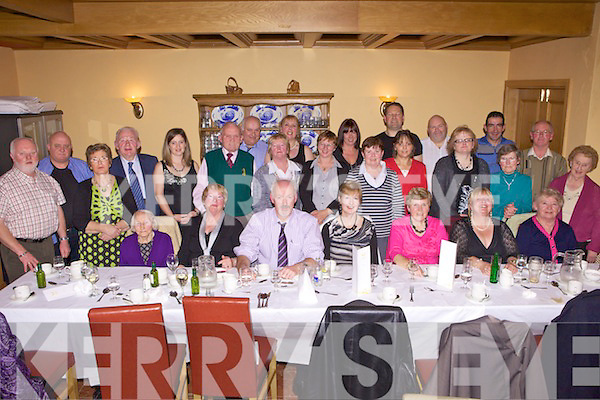 Members of Freemount Community Housing on their social evening out last Friday night in The Devon Inn, Templeglantine..