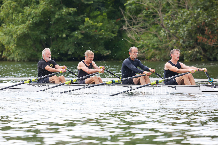 Race: 299  MasG.4x-  Final<br /> 195  Crefelder RC, Germany<br /> 197  Dart-Totnes Amateur Rowing Club<br /> <br /> Henley Masters Regatta 2018 - Saturday<br /> <br /> To purchase this photo, or to see pricing information for Prints and Downloads, click the blue 'Add to Cart' button at the top-right of the page.