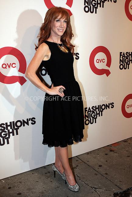 WWW.ACEPIXS.COM . . . . .  ....September 8, 2011, New York City....Kathy Griffin arriving at QVC celebrates Fashion's Night Out on September 8, 2011 in New York City.....Please byline: NANCY RIVERA- ACEPIXS.COM.... *** ***..Ace Pictures, Inc:  ..Tel: 646 769 0430..e-mail: info@acepixs.com..web: http://www.acepixs.com