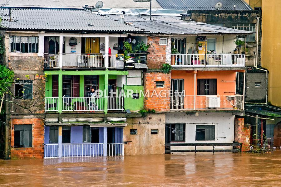 Enchente do Rio do Peixe em Joaçaba e Herval do Oeste. Santa Catarina. 2014. Foto de Andre Arcenio.