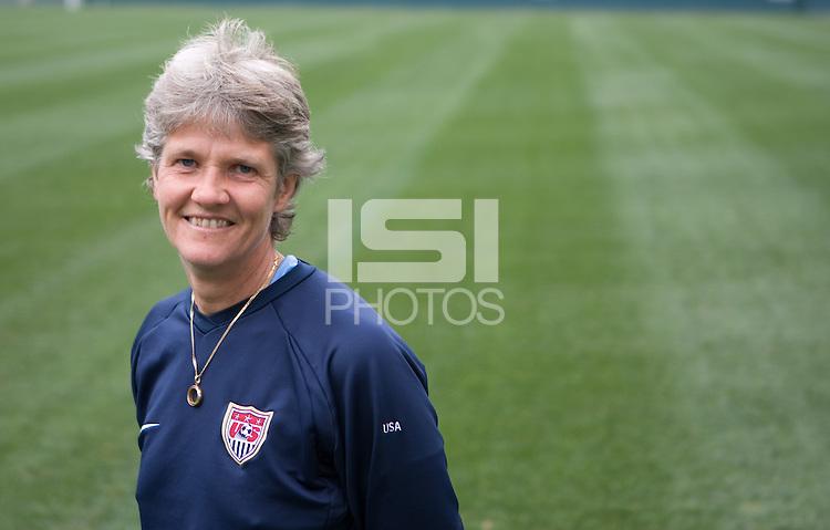 Pia Sundhage, USWNT head coach.