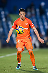 Federico Ricca Rostagnol of Malaga CF in action during the La Liga 2017-18 match between Getafe CF and Malaga CF at Coliseum Alfonso Perez on 12 January 2018 in Getafe, Spain. Photo by Diego Gonzalez / Power Sport Images