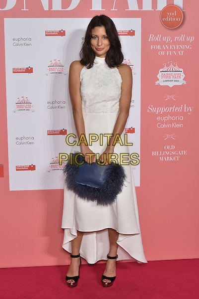 Guest<br /> arrivals at London's Fabulous Fund Fair 2016 in aid of the Naked Heart Foundation at Old Billingsgate Market on 20th February 2016.<br /> CAP/PL<br /> &copy;Phil Loftus/Capital Pictures