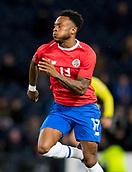 23rd March 2018, Hampden Park, Glasgow, Scotland; International Football Friendly, Scotland versus Costa Rica; Rodney Wallace of Costa Rica