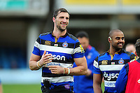 Luke Charteris of Bath Rugby looks on after the match. Aviva Premiership match, between Bath Rugby and Saracens on December 3, 2016 at the Recreation Ground in Bath, England. Photo by: Patrick Khachfe / Onside Images