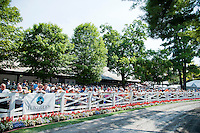 at Saratoga Race Course on Travers Stakes Day  in Saratoga Springs, New York on August 25, 2012.