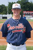 Relief pitcher Craig Kimbrel (2) of the Danville Braves at Dan Daniels Park in Danville, VA, Sunday July 27, 2008.