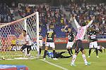 Atletico  Junior vencio 1x0 al Once Caldas en la liga Postobon torneo finalizacion del futbol  colombiano