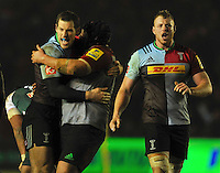 Harlequins v Leicester Tigers, Aviva Premiership Rugby, February 19, 2016