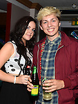 Shannon McCole and Shane Kierans pictured at Lyndsey Reilly's 18th birthday in the Trinity Arms. Photo:Colin Bell/pressphotos.ie