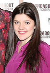 Madeleine Martin attending the Meet & Greet for the Roundabout Theatre Company's 'Picnic' at their rehearsal studios  in New York City. November 29, 2012.