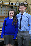 Molly and Eoin Kavanagh.at confirmation in Mell Church..Picture:  www.newsfile.ie ..