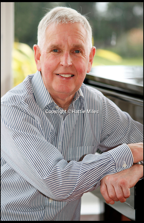 BNPS.co.uk (01202 558833)<br /> Pic: HattieMiles/BNPS<br /> <br /> Paul Barrett has been lent the original scores by the Mantovani family.<br /> <br /> A retired businessman has spent £26,000 laying on his very own a show in tribute to his hero - the musical maestro Annunzio Paolo Mantovani.<br /> <br /> Paul Barrett, 72, will perform in a 48-piece orchestra he has hired for the performance that he is prepared to make a loss of thousands of pounds on.<br /> <br /> Mr Barrett said he plans to do 'everything bar conducting' in the musical extravaganza being hosted at the Bournemouth Pavilion Theatre in Dorset.