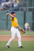 June 5, 2010: Austin Nola of LSU during NCAA Regional game against UCLA at Jackie Robinson Stadium in Los Angeles,CA.  Photo by Larry Goren/Four Seam Images