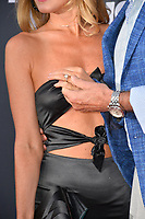 LOS ANGELES, CA - July 14, 2018: David Hasselhoff &amp; Hayley Roberts show off her engagement ring at the Comedy Central Roast of Bruce Willis at the Hollywood Palladium<br /> Picture: Paul Smith/Featureflash.com