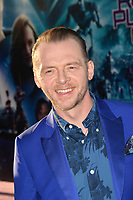 Simon Pegg at the premiere for &quot;Ready Player One&quot; at The Dolby Theatre, Los Angeles, USA 26 March 2018<br /> Picture: Paul Smith/Featureflash/SilverHub 0208 004 5359 sales@silverhubmedia.com
