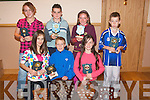 Prize Night: Enjoying the Strand Road Community games prize night in the Kerins O'Rahillys GAA clubhouse last Friday night were front l-r: Laura Daly (best local girl), Bobby O'Keeffe (best local boy) and Laura Foley (County Kerry winner). Back l-r: Tara Higgins, Cormac Coffey, Emma McCarthy and Darragh McElligott.   Copyright Kerry's Eye 2008